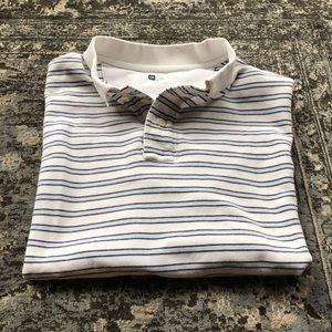 Gap® | Striped Polo | Size Large